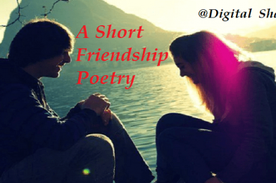 A Short Friendship Love Poem by Abhash Jha