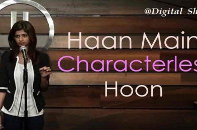 Haan Main Characterless Hoon by Pooja Sachdeva